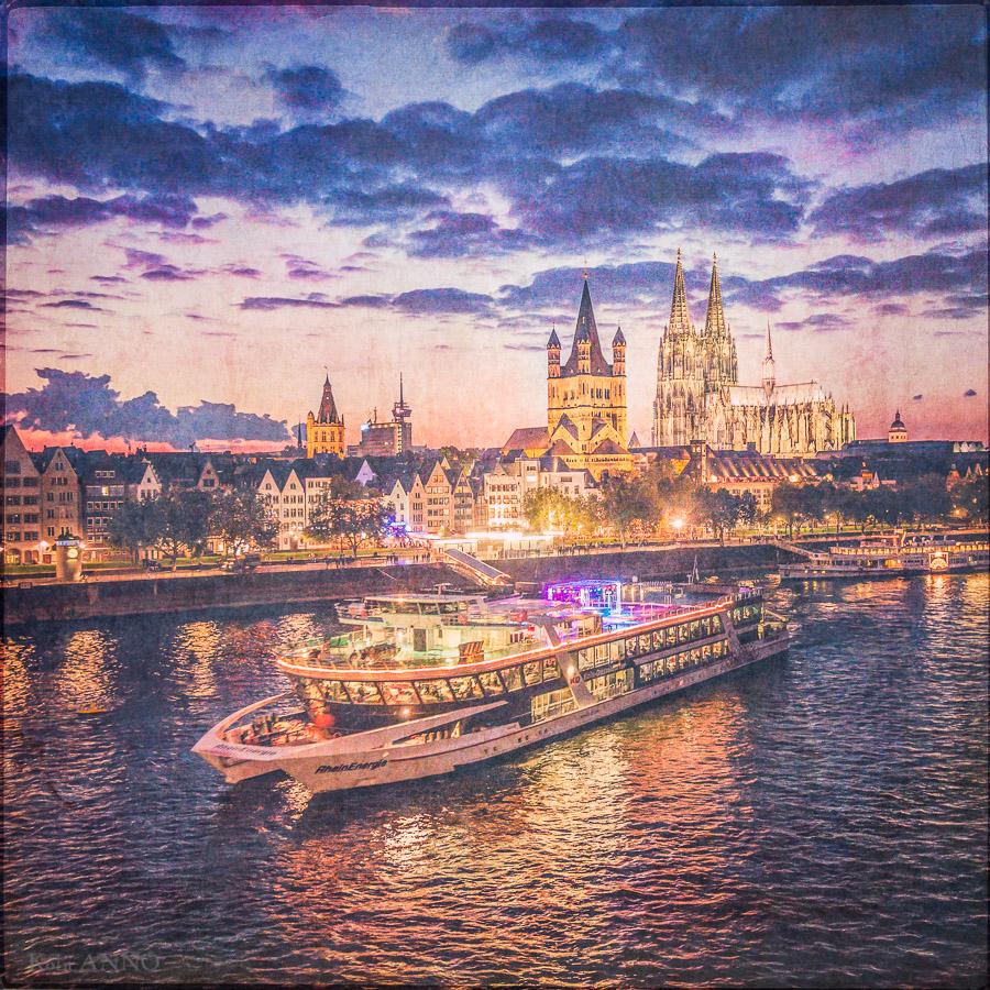 Altstadt, Abend
