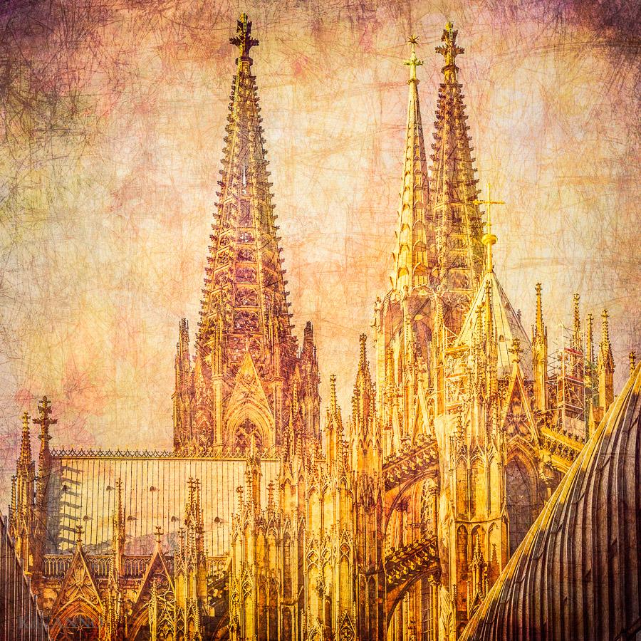 Die Kölner Dom Spitzen