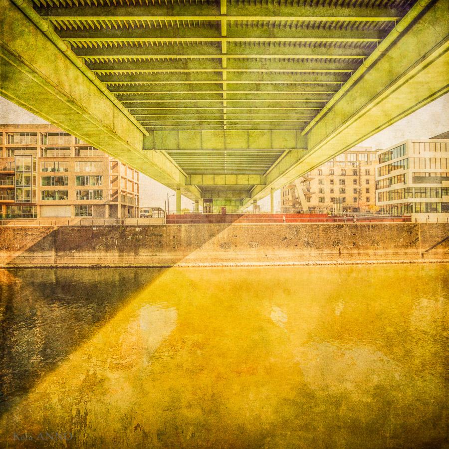 Brücke II, Rheinauhafen, Severinsbrücke