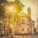 St. Aposteln, Sonne, Baum, Sakrale Bauten
