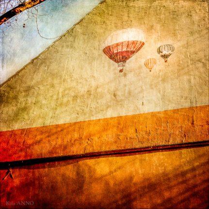 Ballon, Graffiti,